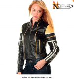 Bunda XELEMENT TRI-TONE JACKET - BLACK/YELLOW