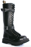 Glady - boty STEEL ROCK BLACK ZIP 2P, 20 dírek