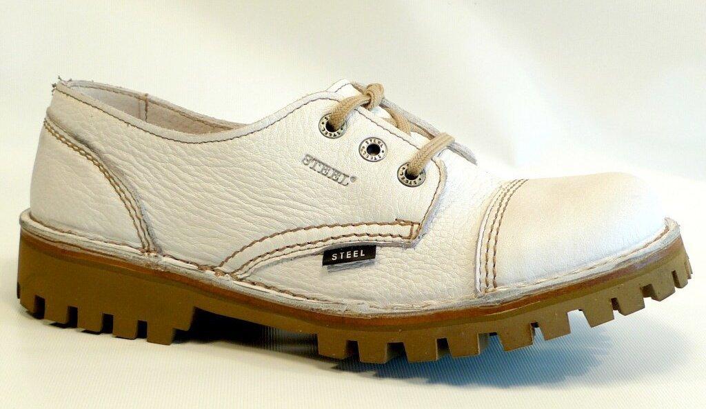 Glady - boty STEEL FULL WHITE bez oceli fa3317c6da