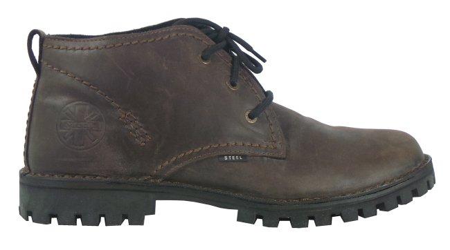 Glady - boty STEEL BROWN TRAKTOR bez oceli - 284 48 OC 5359540e0e