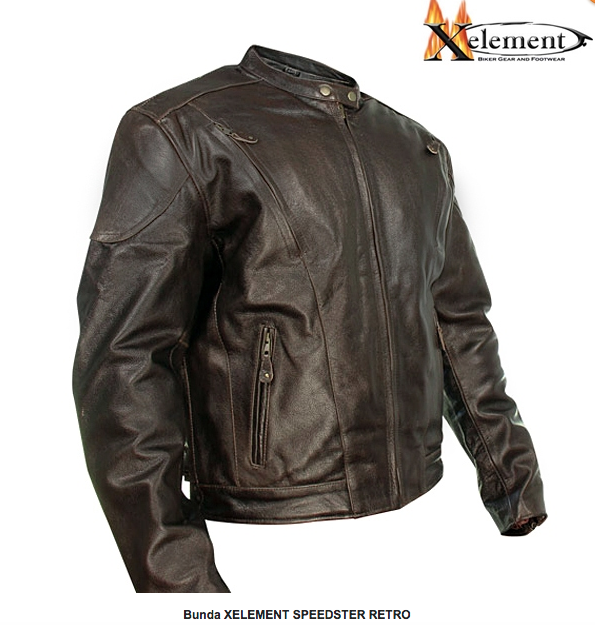 Bunda XELEMENT SPEEDSTER RETRO - BROWN