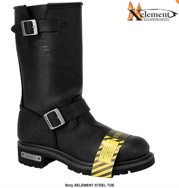 Glady - boty XELEMENT STEEL TOE - s ocelovou špičkou d456e73e7b