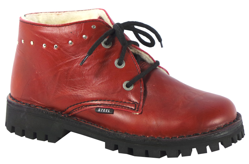 Glady - boty STEEL RED bez oceli 304d202244