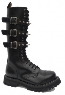 Glady - boty STEEL ROCK SPIKES ZIP, 20 dírek