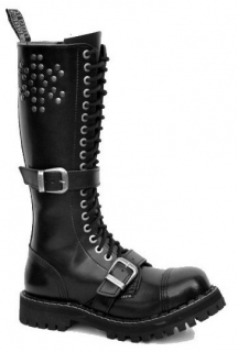 Glady - boty STEEL ROCK RIVETS ZIP, 20 dírek