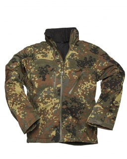 Bunda Softshell SCU 14 - Flecktarn