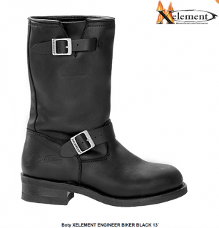 Glady - boty XELEMENT ENGINEER BIKER BLACK 13´