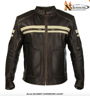 Bunda XELEMENT DARKBROWN JACKET
