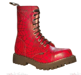 Glady - boty STEEL SPIDER RED, 10 dírek